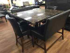 Lacey 6 PC Dinette