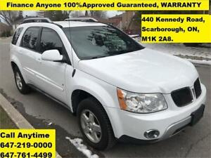 2006 Pontiac Torrent, FINANCE 100% GUARANTEED, 3 YEARS WARRANTY