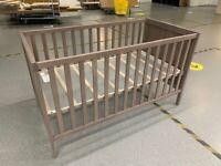 SUNDVIK Cot, grey-brown70x140 cm IKEA Wembley #BargainCorner