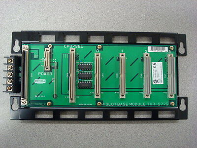 Used Toyoda Thr-2775 Toyopuc 4 Slot Selector Base Module