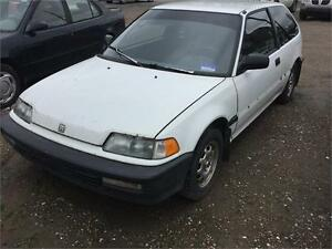 1991 Honda Civic CX AUTOMATIQUE