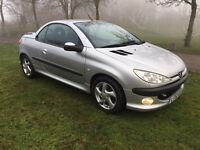 2002 Peugeot 206 cc convertible hardtop Full service history low mileage 73,000 miles