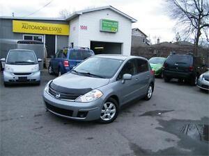 2010 Nissan Versa 1,8 SL . FINANCEMENT MAISON AVEC 500$ DISPO.