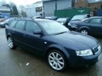 AUDI A4 AVANT 2.0FSI 53 REG ALLOYS LEATHER PARKING SENSORS