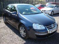 VOLKSWAGEN JETTA VW 1.9 SE TDI 4d AUTO DSG 103 BHP (blue) 2007
