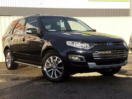 2012 Ford Territory Sz Titanium Seq Sport Shift Awd Blue 6 Speed
