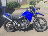 Superb low mileage Yamaha XT 660R. Lowered seat height for shorter rider. Fitted front Baja Rack.