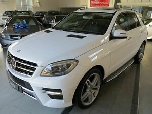 2015 Mercedes-Benz ML350 W166 MY805 BlueTEC 7G-Tronic + White 7 Speed Sports Automatic Wagon Albion Brisbane North East Preview