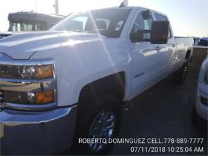 2018 Chevrolet Silverado 3500HD LT DIESEL CREW CAB 4WD LONG BOX