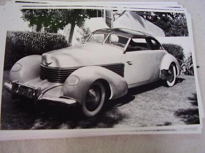 1937 CORD COUPE  11 X 17  PHOTO  PICTURE