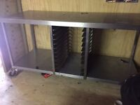 Stainless steel catering table (Solid)