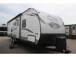 New 2016 Palomino Canyon Cat 27 RBSC Travel Trailer