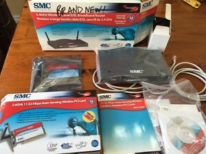 SMC 2.4GHz Wireless Cable/DSL Broadband Router (Brand New)