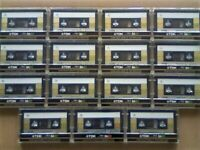 NOW RARE 15x GOLD ISSUE TDK SA 90 TYPE 2 CHROME CASSETTE TAPES 1985-87 WITH CARDS CASES & LABELS