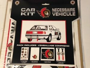 Ottawa Senators Car Decal Kit