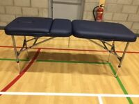 Brand new physique portable treatment table bought for £350 selling for £270 ono