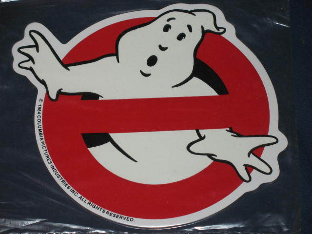 Large Halloween Ghost Magnet Decoration Ghostbusters 1984 GLOWS Movie Film