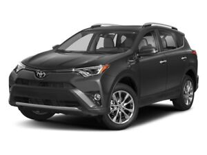 2018 Toyota RAV4 AWD LIMITED 4CYL