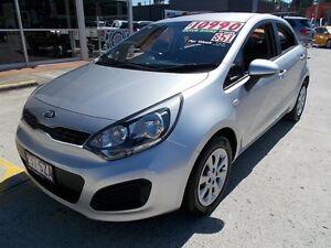 2013 Kia Rio UB MY13 S Silver 4 Speed Sports Automatic Hatchback Buderim Maroochydore Area Preview