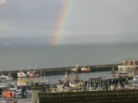 2/3 bed house for sale in Newlyn. Gge, pkg, gas c/h, quiet close, harbour and bay views