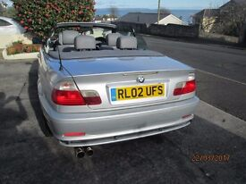 BMW 318ci manual in good condition for year.