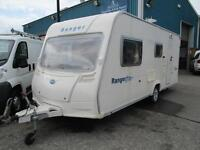 Bailey Ranger 510/4 4 berth touring caravan.