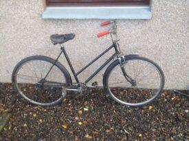 Vintage BSA Bicycle 40s-50s Fully original