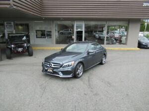 2015 Mercedes-Benz C-Class C300 4MATIC WITH COLLISION PREVENTION