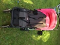 Bugaboo Chameleon pushchair with numerous accessories