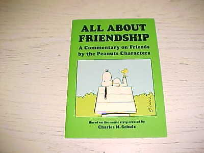All About Friendship Commentary Peanuts Characters PB Book Charles Schulz 1971 ](All Peanuts Characters)