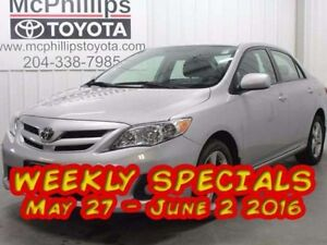 2011 Toyota Corolla 4DR SDN AT LE