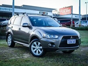 2011 Mitsubishi Outlander ZH MY11 Activ 2WD Bronze 6 Speed Constant Variable Wagon Wangara Wanneroo Area Preview