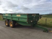 Used Marshall 10T Dropside Trailer