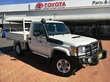 2014 Toyota Landcruiser VDJ79R MY12 Update GXL (4x4) French Vanilla 5 Speed Manual Cab Chassis Dubbo 2830 Dubbo Area Preview