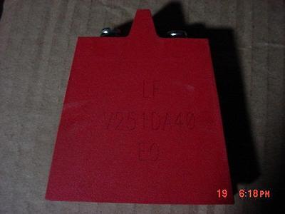 Little Fuse Mov Varistor V251da40 250vac 650v 40000a Metal Oxide 5000pf Screw