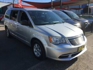 2013 Chrysler Grand Voyager RT 5th Gen MY13 LX Silver 6 Speed Automatic Wagon Lidcombe Auburn Area Preview