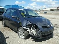TOYOTA AURIS 2008 1.6 PETROL MANUAL BREAKING FOR SPARES / PARTS