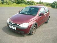2003 Vauxhall Corsa Club 12v Only 86K Miles!! 1