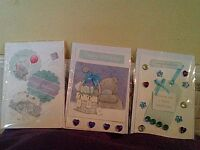 Greetings Cards handmade set of 5
