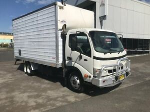 2006 HINO DUTRO, 155HP, 6 SPEED MANUAL TRANSMISSION, SPRING SUSPENSION, PANTEC BODY WITH BARN DOORS, Milperra Bankstown Area Preview