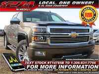 2014 Chevrolet Silverado 1500 High Country 6.2L | Local | One Ow