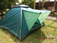 Lichfield Navaho 4 , 2 berth Tent Good Condition