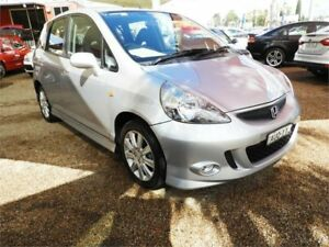 2005 Honda Jazz GD MY05 VTi-S Silver 7 Speed Constant Variable Hatchback