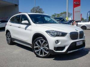2018 BMW X1 F48 xDrive25i Steptronic AWD White 8 Speed Sports Automatic Wagon Morley Bayswater Area Preview