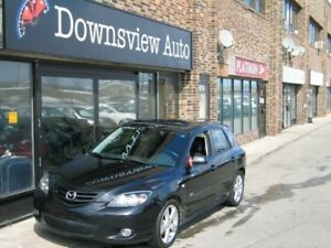2005 Mazda Mazda3 Sport GS!MANUAL!LOADED!FULLY CERTIFIED@NO EXTR