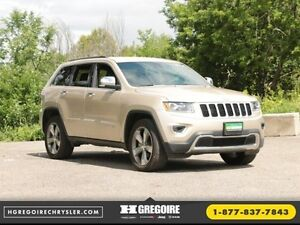 2015 Jeep Grand Cherokee Limited 4x4 A/C CUIR CAMERA MAGS