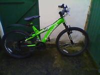 Kawazaki bike for 8-12yo boy