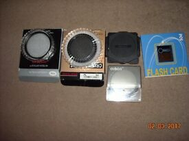Various camera filters