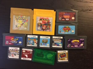 Selling Old DS and GBA Games - Pokemon , Harvest Moon and more!