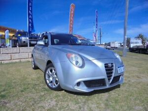 2009 Alfa Romeo Mito Silver 5 Speed Manual Hatchback Wangara Wanneroo Area Preview